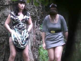 Teens Pissing In The Woods amateur pissing voyeur video