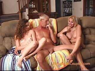Taboo Parents teach Daughter to FUCK babe blowjob bisexual video