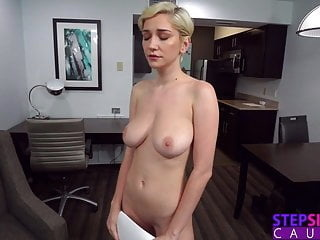Three Pumps But That's It! - Step Sis Practicing Sex Scene blonde blowjob pov video