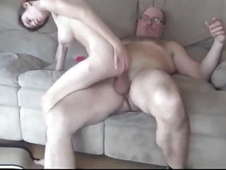 Old Man With Huge COCK Abused Hairy TEEN Girl blowjob facial old & young video