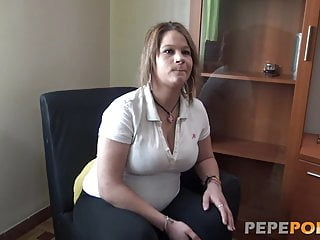 Preggo MILF fantasy is having a threesome with two guys amateur blowjob brunette video