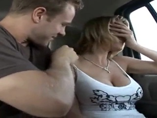 Hardcore Blonde Wife In Van big ass big tits blonde video