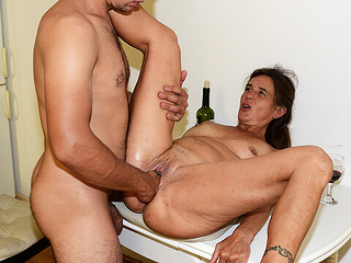 mom rough fist fucked by stepson fisting mature step fantasy video
