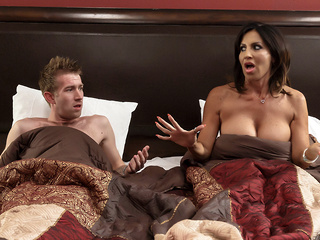 Tara Holiday & Danny D in Overnight With Stepmom: Part One - Brazzers big ass big tits creampie video