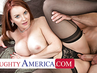 Naughty America - Janet Mason gets a Creampie consolation babe blowjob hardcore video