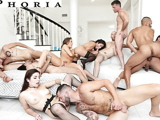 BiPhoria - Anything Goes At Couple's First Bisexual Orgy anal blowjob bisexual video