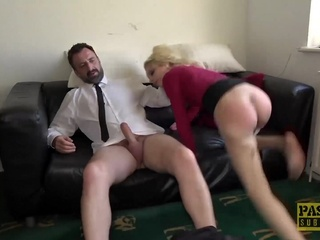 PASCALSSUBSLUTS Blond Sub April Paisley Fucked Roughly anal bdsm big cock video