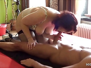Dirty German Ugly Mother Fuck and Rimjob Young Step Son amateur blowjob hardcore video