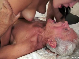 Dolly Diore in Of Picnics and Old Cocks Video brunette cunnilingus facial video