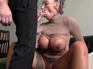 Milf submissive throats and gets analized anal big tits blonde video